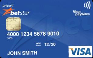betstar visa card