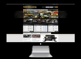 screengrab of bookmaker.com.au website